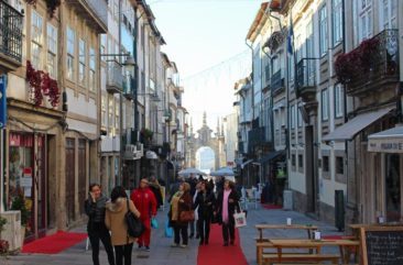 The Streets of Braga, Portugal