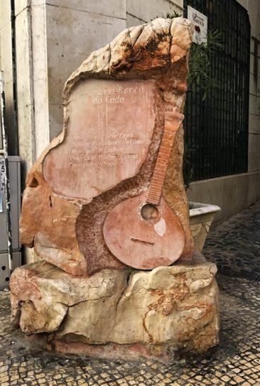 Lisbon Fado Statue