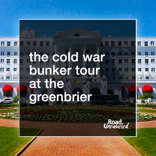 The Cold War Bunker Tour at the Greenbrier