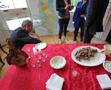 Food at the Embassy of Albania