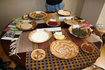 Food at the Embassy of Botswana
