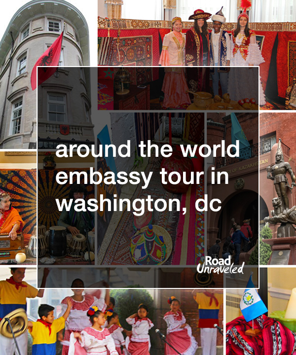 The World In A Day Washington Dc S Around The World Embassy Tour
