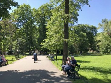 Parks around Krakow