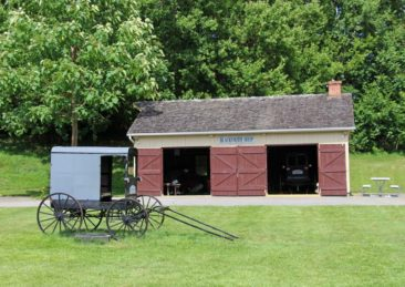 Amish Buggy Repair Shop