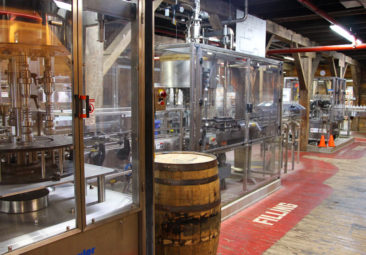 Knob Creek Kentucky Bourbon Bottling