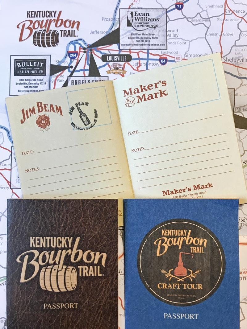 Kentucky Bourbon Trail Pports Collect A Stamp At Each Distillery