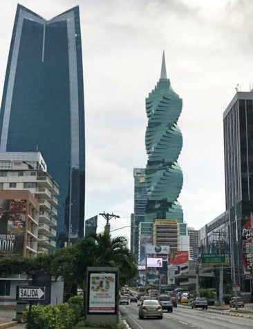 The F&F Tower in Panama