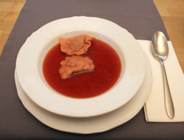 Barszcz is a traditional Polish beet soup