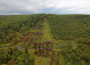 Kinzua Bridge Wreckage