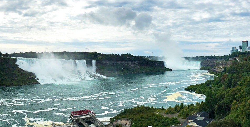 Niagara Falls: Visiting from the Canadian and American Sides