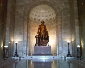 Washington Masonic Temple Statue