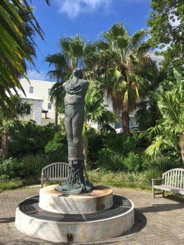 "Sarah ""Sally"" Bassett Statue"