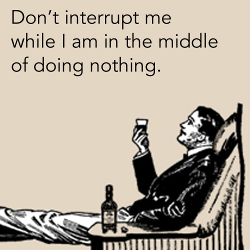 Image result for doing nothing