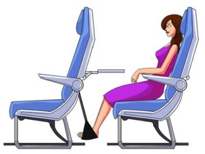 Sleepy Ride Airplane Footrest