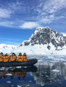 Antarctica Zodiac Cruising