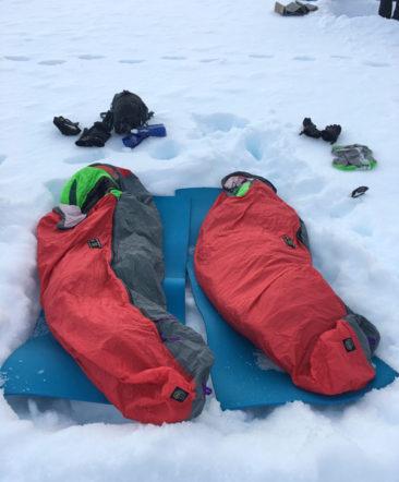 Antarctica camping
