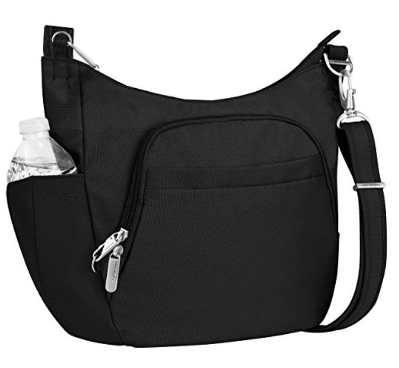 Anti-Theft Cross-Body Bucket Bag