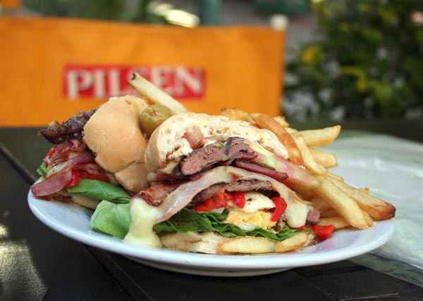Chivito (photo via Wikipedia)