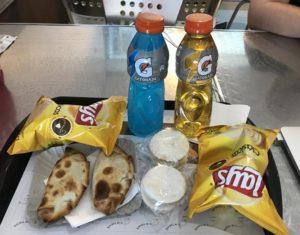Airport empanadas