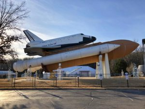 Replica of the Space Shuttle at the Marshall Spaceflight Center in Huntsville, Alabama