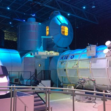 Replica of the International Space Station