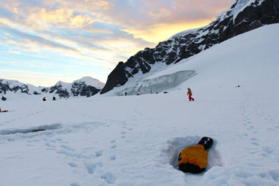 Our Antarctica Campsite