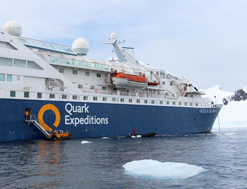 Quark Tours Antarctica