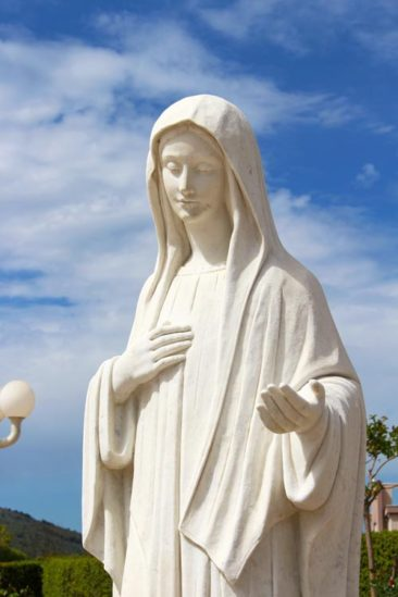 Our Lady of Medjugorje Statue in Medjugorje, Bosnia