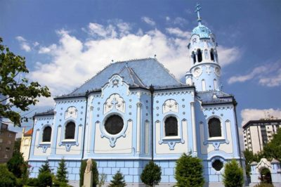 The Blue Church in Bratislava [Photo via Pixabay]
