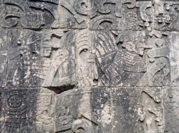 Stone carvings at Chichen Itza