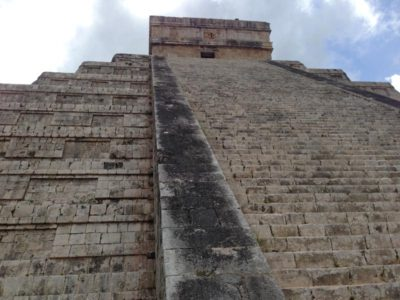 The steps of El Castillo, Chichen Itza
