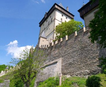 The Walls of Karlstejn Castle