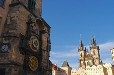 Old Town Square and the Astronomical Clock