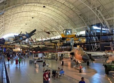 Udvar-Hazy National Air and Space Museum near Dulles Airport