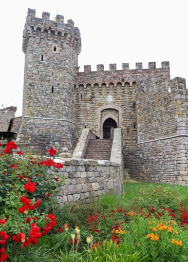 Castello di Amorosa - aka the Castle Winery in Napa Valley, California