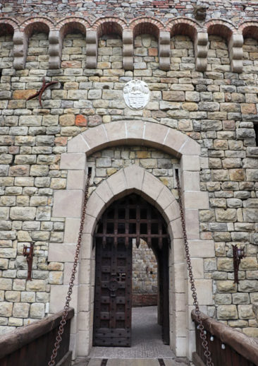 Doorway to the Castle Winery