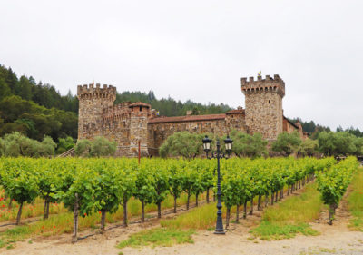 Castello di Amorosa - aka the Castle Winery