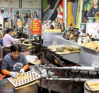 The Golden Gate Fortune Cookie Factory