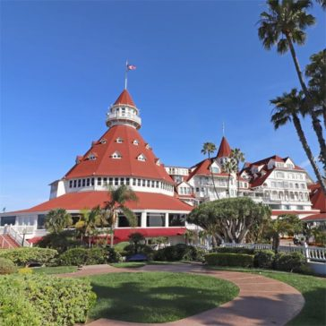 The Hotel del Coronado in San Diego, California