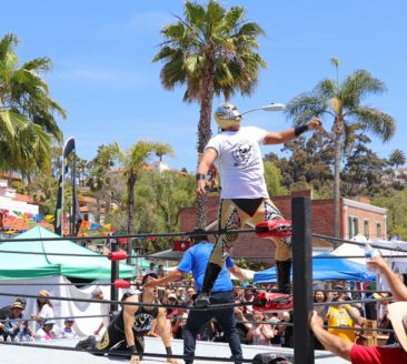 Lucha Libre Wrestling in San Diego