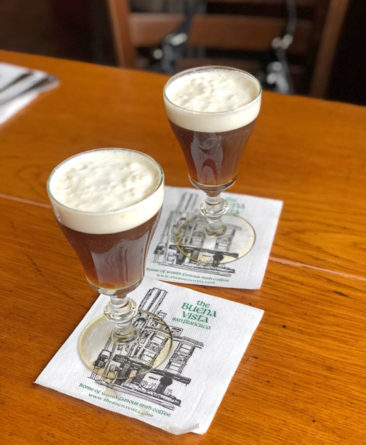 Irish Coffees at the Buena Vista Cafe