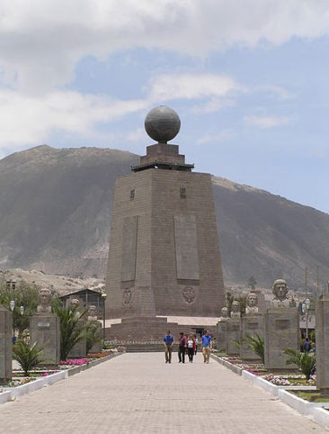 Mitad del Mundo (Photo via Wikipedia)