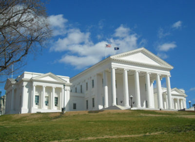 The Virginia State Capital Building