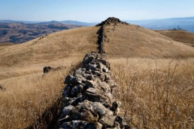 Mystery Walls (Photo credit: The Mercury News)