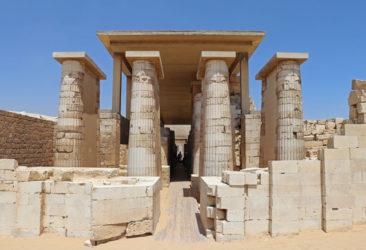 The complex at Sakkara (or Saqqara)