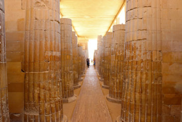 Corridor at Sakkara (or Saqqara)