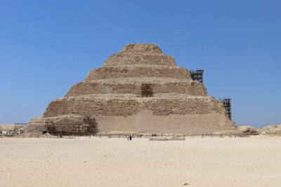 The Pyramid of Sakkara (or Saqqara)
