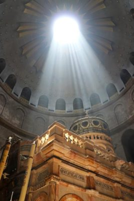 The Tomb of Jesus inside the Church of the Holy Sepulchre