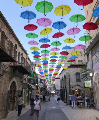 The streets of Jerusalem's Old City