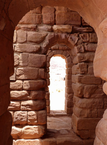 Doorway in one of Petra's buildings